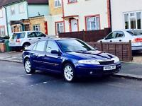 Renault Laguna With Mot, Good Mileage, Leather Seats, Reliable 5 Door Hatchback, Air Conditioning