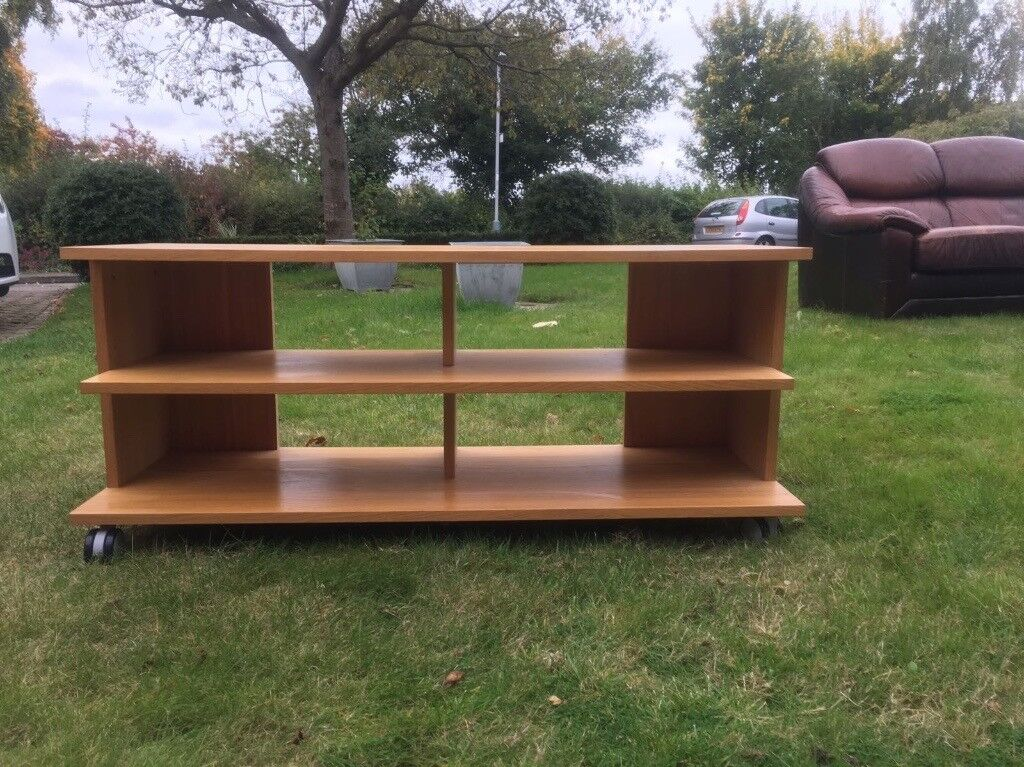 IKEA TV / Video etc stand in wood approx 120 * 45 * 40