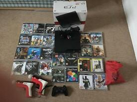 160GB Slim PS3 with 24 Games