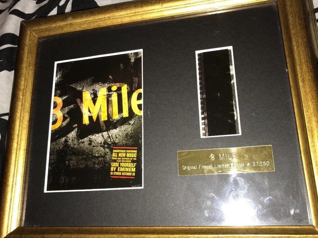 Eminem 8 Mile limited edition film cell