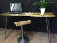 Large Industrial style Desk Table