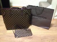 Louis Vuitton bag with purse