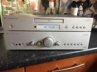 Cambridge audio azure amplifier with free cd player