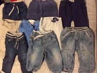 Boys 6-9 month trousers