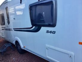 2010 Swift Challenger 540 (Fixed Bed)
