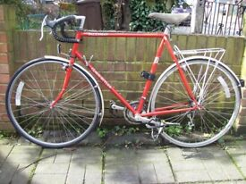 Claud Butler Dalesman Classic British touring cycle. Totally original, hardly used. Reynolds 531.