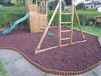 Crumbz Play - Premium rubber chippings for loose fill applications in Children's Playgrounds