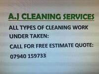 A.J CLEANING SERVICES
