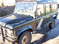 land rover defender 110 county r reg, 300 tdi had new chassis fitted 3 year ago at cost of £6000