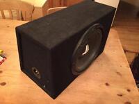 JL Audio 12-inch Subwoofer & 250W Amp
