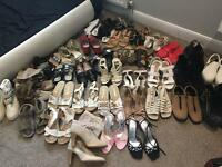 JOB LOT OF 35 PAIRS. Various ladies shoes size 6.