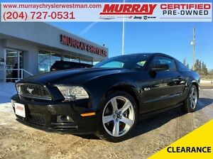 2013 Ford Mustang GT RWD 5.0L *Heated Leather* *Glass Roof*