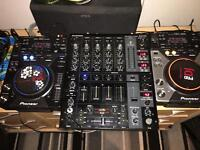 Pioneer cdj 400 limited edition, cdj 400 and behringer djx750 sale or swap