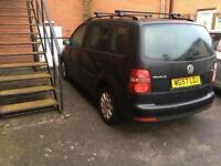 Vw Tuoran TDI, 7 Seater, 78,000 miles only, very clean