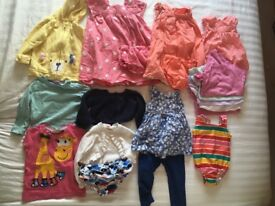 Girls 9-12m bundle