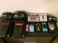 Guitar Pedals, Various - DELIVERY