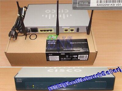 - ★★★★ Cisco SA520W-K9 All-in-One Wireless Security Appliance SSL VPN SA 520W
