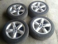 "MK2 FORD FOCUS 16"" ALLOY WHEELS WITH TYRES 205/55/R16"