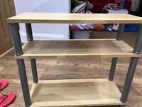 Small shelving unit in birch pine colour