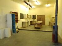 Workshop/Studio space available for rent, Craigencalt Farm, Kinghorn (£3 per square metre/month)