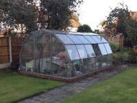 Hartley Botanic Heritage Greenhouse Aluminium Glazed