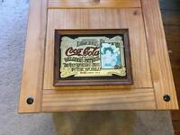 Small Coca Cola mirror. £15