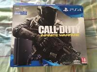 PS4 Slim 500Gb with Cod Remastered