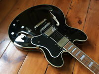 Benson 335 semi acoustic electric guitar. Great condition.