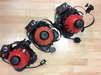 Red Head Light 3x 800W with bag and dimmer