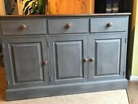 Up Cycled Solid Pine Dresser/Sideboard (Can Deliver)