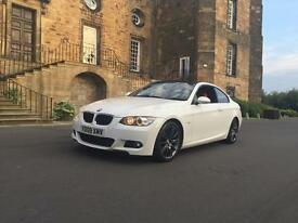 2009 BMW 320d M SPORT COUPE//RED LEATHER//IMMACULATE CAR//