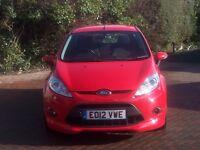 2012 Ford Fiesta Zetec S 33,000 miles Excellent condition 3month/3000mile Warranty Long MOT