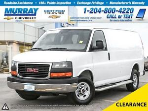 2015 GMC Savana RWD 2500 135 *Low Kilometers, Premium Sound Syst