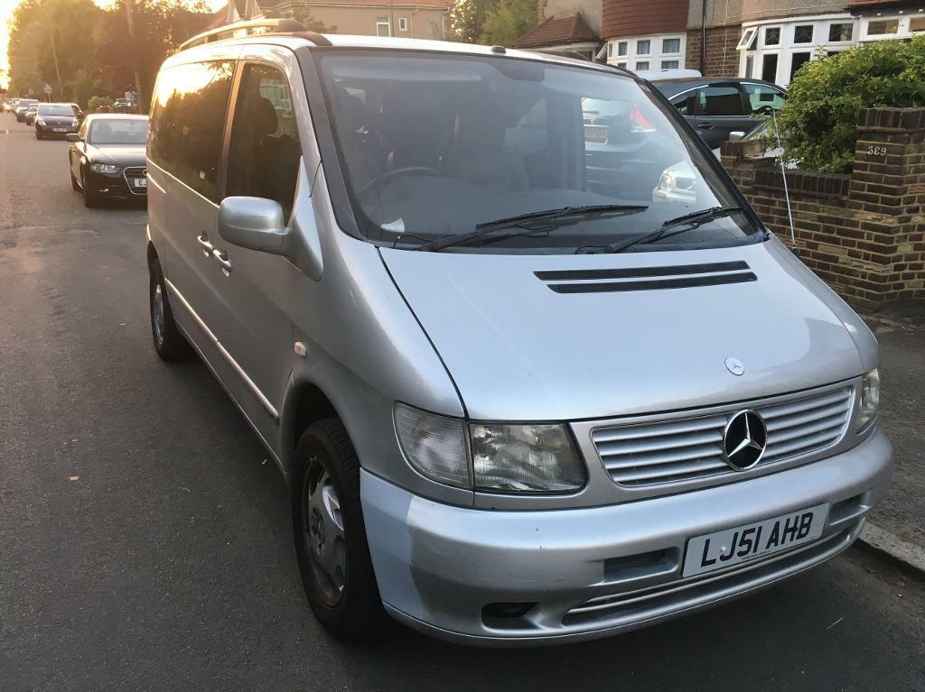 2002 mercedes benz vito 7 seater cheap car in croydon for Mercedes benz two seater