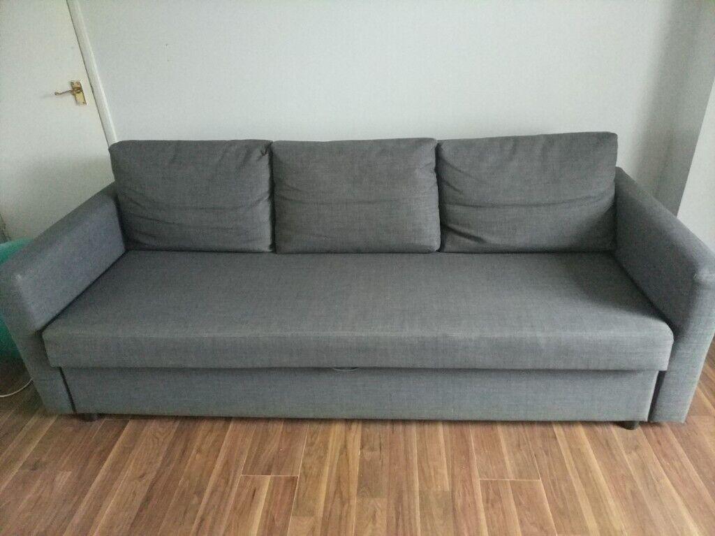Astounding Friheten Three Seat Sofa Bed In Norwich Norfolk Gumtree Ibusinesslaw Wood Chair Design Ideas Ibusinesslaworg