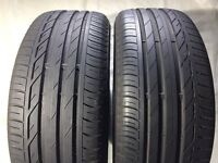 205 55 16 Bridgestone Turanza T001 7mm (A Tyres) x2 FREE FITTING London Bow E3