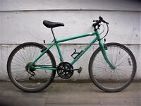 Mountain/ Commuter Bike by Raleigh, New Brakes, Turquoise, New Brakes, JUST SERVICED/ CHEAP PRICE!!!