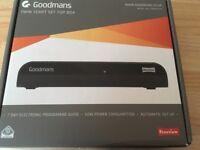Goodmans twin scart set top box brand new