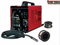 Sealey SUPERMIG130 Welder 130Amp 230V Gas + 0.7kg 0.6mm A18 Grade Flux Wire