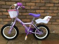 "Apollo Petal 14"" girls bicycle"
