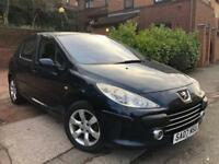 PEUGEOT 307 SPORT 2007+GENUINE MILEAGE+HPI CLEAR+LONG MOT+IMMACULATE EXAMPLE***