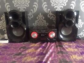 Panasonic sound system (750whatts)