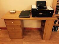 Office computer desk.