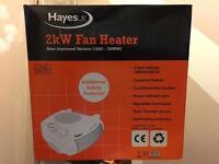 Job lot of 2kw fan heaters - brand new