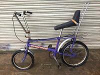 Mk2 Raleigh chopper purple