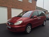 2006 56 Citroen C8 2.0 HDI Turbo Diesel *7 Seater* 12 Months MOT not zafira touran picasso galaxy