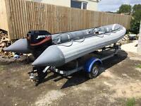 Avon 5.4 metre RHIB / RIB / boat / speedboat