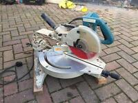 Makita mitre saw and stand