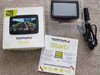 TOMTOM START 20 4.3 INCH GPS SAT NAV- UK & WESTERN EUROPE LIFETIME MAPS