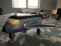 Disney Cars 2 Siddeley Spy Plane by Fisher Price Imaginext